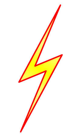 Lightning and Energy Symbol Vector
