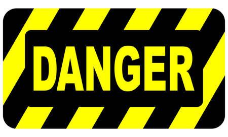 caution sign: Pericolo Registrati