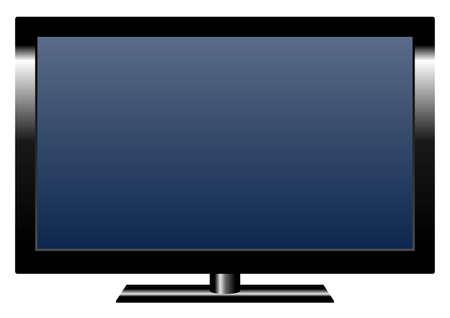 LCD flat TV-set