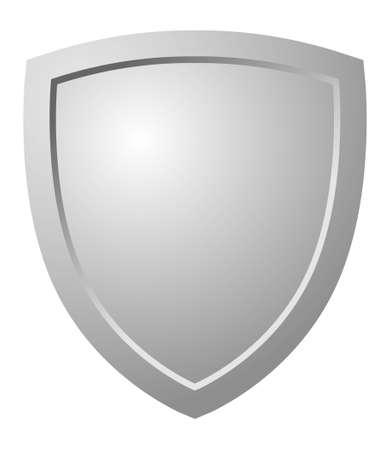 Driehoekige Shield  Vector Illustratie