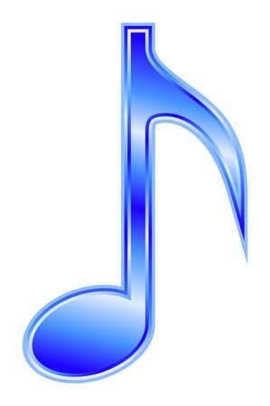 aria: Nota - azul