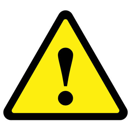 triangular warning sign: Warning Sign
