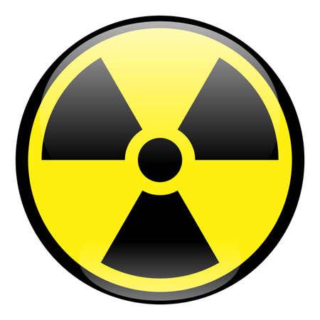 roentgen: Radiation Icon Stock Photo