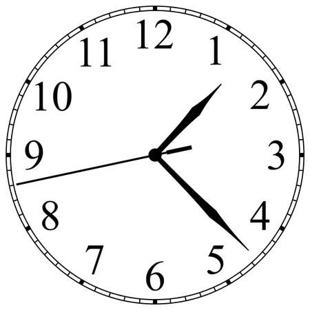 duration: Clock-Face Illustration