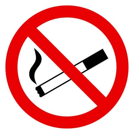 no smoking sign: No Smoking Sign Illustration