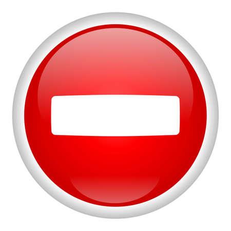 halt: Stop Icon Stock Photo
