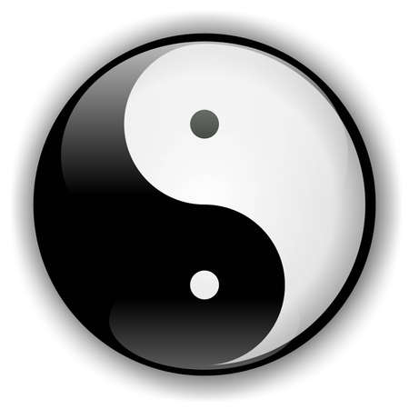 Yin-Yang Icon photo