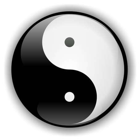 chi: Yin-Yang Icon