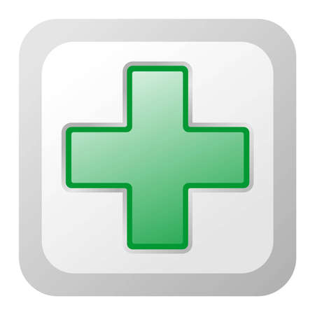polyclinic: Green Cross Illustration