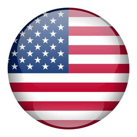 council: USA Flag Button