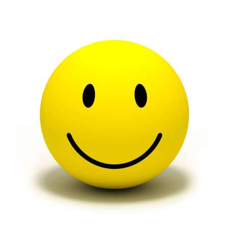 convivialit�: Smiley face symbole Banque d'images