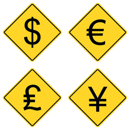 currency symbols: Currency Symbols on Road Signs