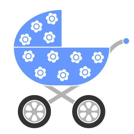 perambulator: Baby Carriage  Vettoriali