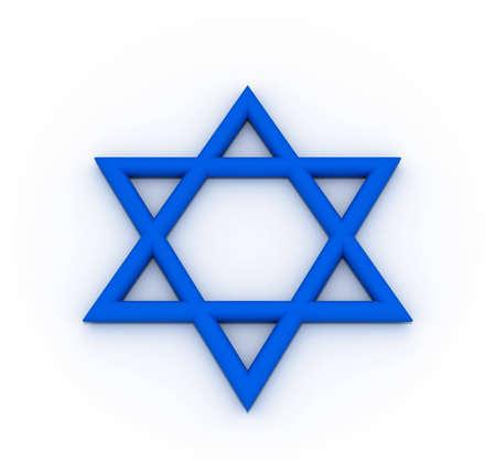 hexagram: Blue Hexagram