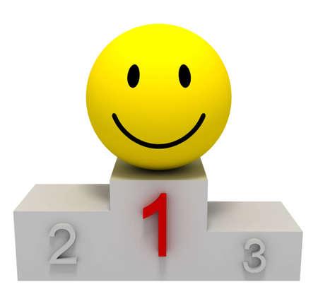 winner podium: Winner Smile