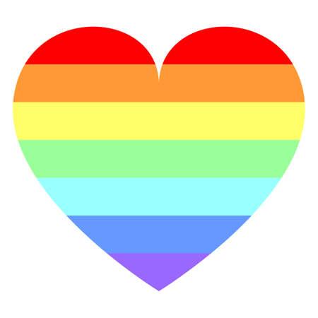 eros: Heart in Rainbow Colors