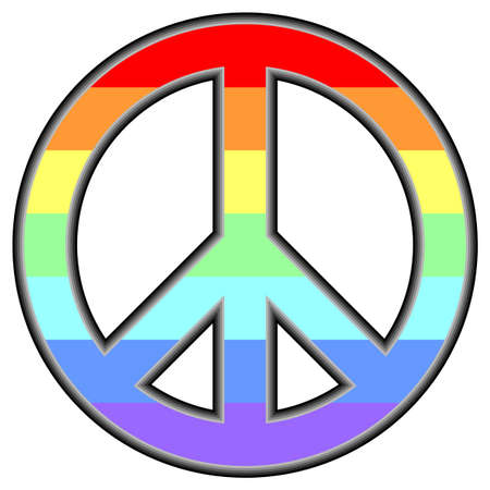peace sign: Pacific symbool