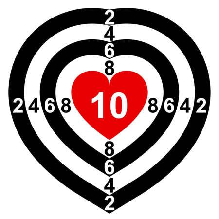 infatuation: Heart-Target