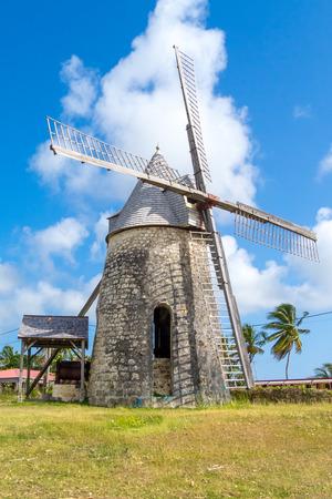 marie: Wind mill of Bezard, island of Marie Galante