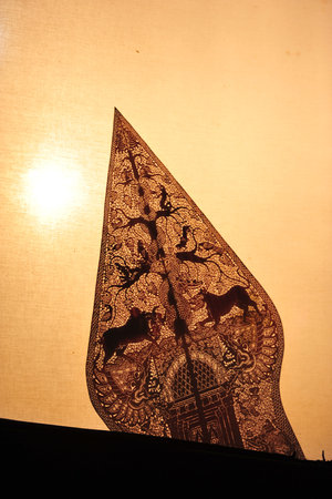wayang-traditional puppets