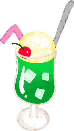 Cream soda 向量圖像
