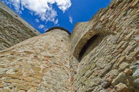 ivangorod fortress Stock Photo