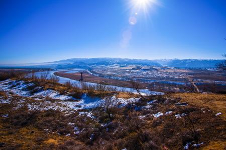 upstream: Gansu Zhangye