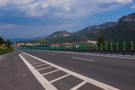 deceleration: Landscape view of Gaoping City, Jincheng Province, Shanxi Province