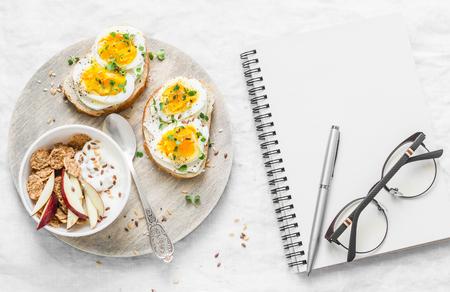 Meal Diet Plan Healthy Breakfast Or Snack