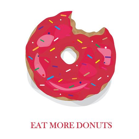 Eat more dounts! Color wallpers for desktop