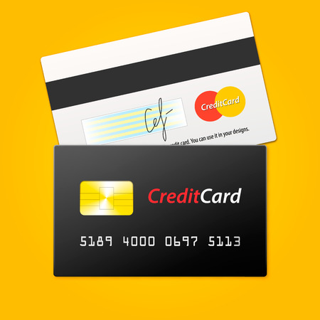 Vector Credit Card Mock-up