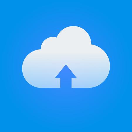 cloud service: Vector Cloud Service Icon