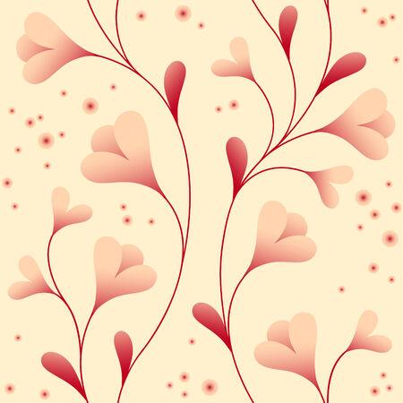 fascinação: papel de parede de luz com elegantes flores suaves