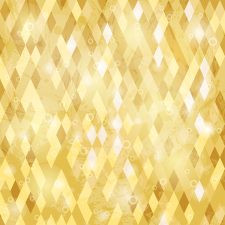 yelow: Geometric background with grungy texture in yelow tone.