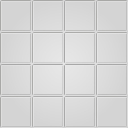 recess: Gray tiles seamless texture. Vector background. Illustration