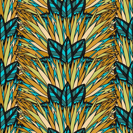 background decorative: Floral seamless background. Decorative pattern.