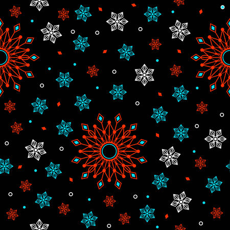 flores abstractas: Flores abstractas geom�tricas. Modelo incons�til oscuro.