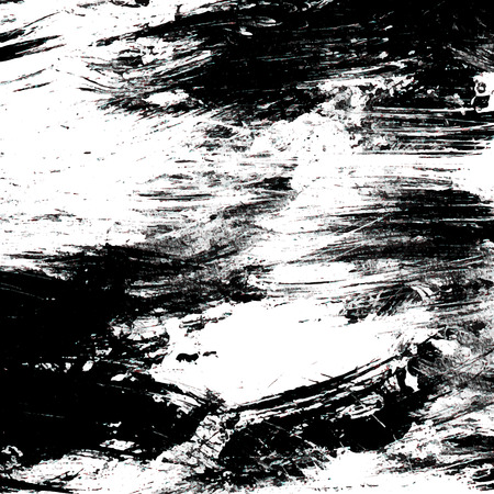 Vector grunge texture. White and black painting background. Illustration