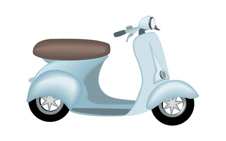 Scooter vector Vector