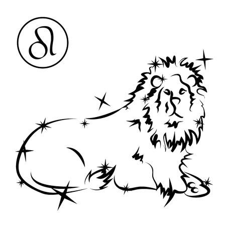 Leo Stock Illustratie