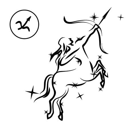 Sagittarius Stock Vector - 13590077