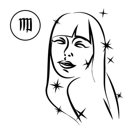 jungfrau: Jungfrau Illustration