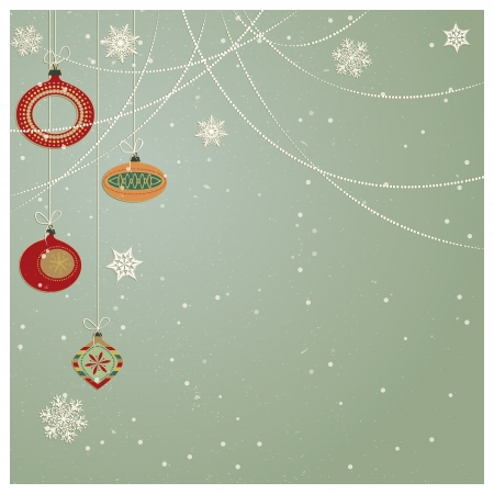 Christmas Ornaments /Stylish retro Christmas ornaments