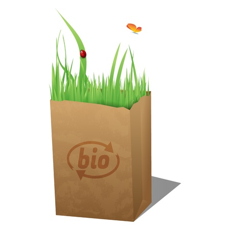Bio bag Stock Vector - 16218670