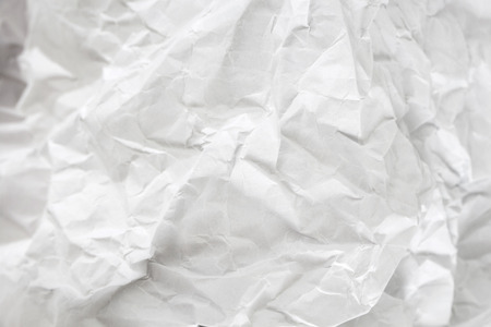 Blank crumpled paper sheet texture background