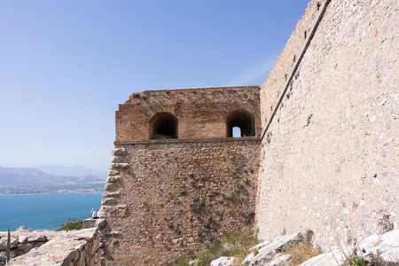 jail: Palamidi medieval fortress  Nafplio, Greece