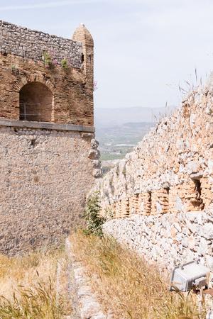 nafplio: Palamidi medieval fortress, Nafplio, Greece