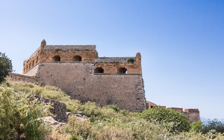 nafplio: Palamidi medieval fortress  Nafplio, Greece