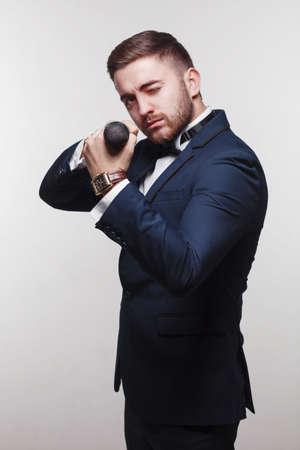 formal wear: young man in formal wear portrait