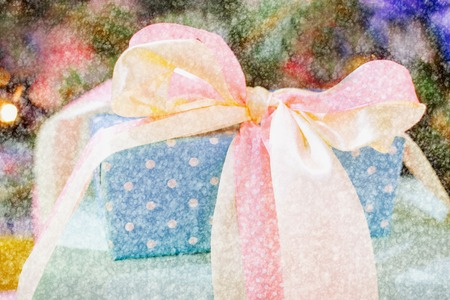 chic: Christmas Gift boxes in color Shabby chic